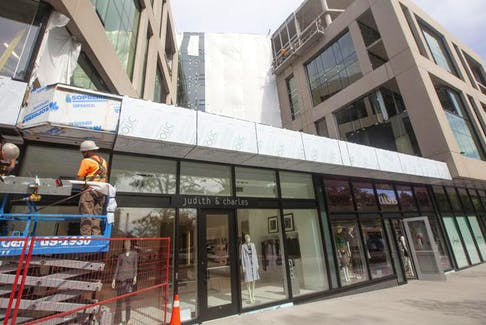The Doyle on Spring Garden Road is the trendy new home to stores such as Fashion Oasis and Judith & Charles.