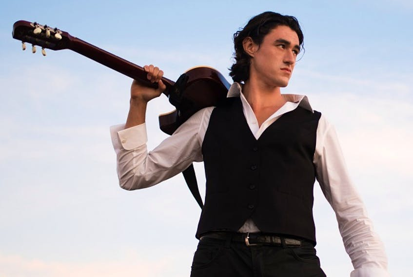 Hants County guitarist Roland Grant brings his fleet-fingered fretboard skills to Annapolis Royal's King's Theatre for the venue's first major event since it had to close its doors due to COVID-19 in March.