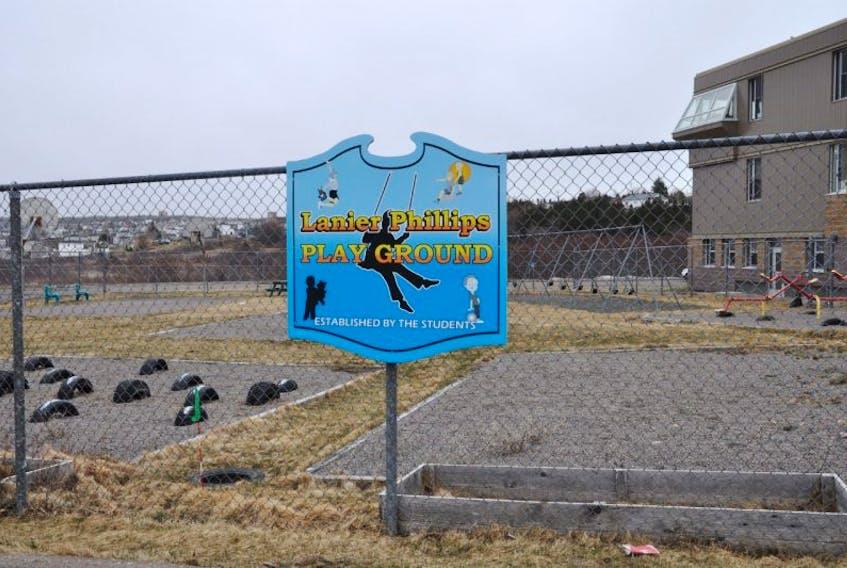 The Lanier Phillips Playground
