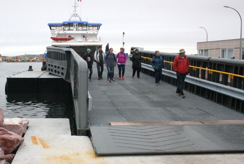 Fortune Mayor Charles Penwell hopes a solution came be found soon to allow the ferry from Fortune to St. Pierre to load and unload vehicles at the wharf in Fortune.