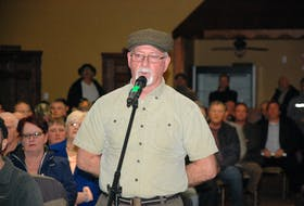 John Baker was among those in attendance at Grieg NL's information session in Marystown on March 13. Baker took the opportunity to voice his concerns to the panel. - SALTWIRE NETWORK FILE PHOTO