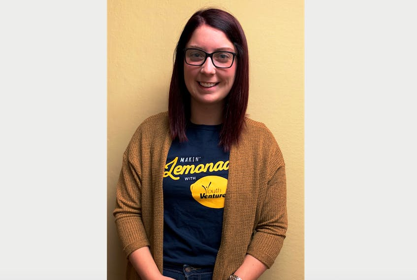 Kayla Power is coordinating the Youth Ventures program on the Burin Peninsula this summer.