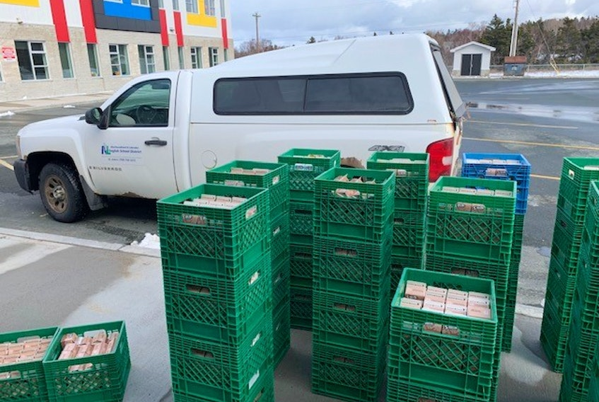 Over the course of two weeks, 442 crates of milk caintaining 21,263 lunch-size (250 ml) cartons, was delivered to over 20 food banks thanks to the assistance of the Community Food Sharing Association.