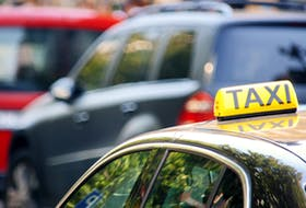 Stock photo of a taxi cab