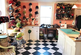 The Hat Junkie studio in Lunenburg, N.S. - Anna Shoub