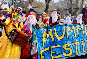 The 11th annual Mummers Parade, organized by the Mummers Festival, made its way through the Georgestown neighbourhood of St. John's Saturday afternoon.