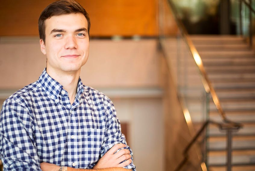 Patrick Hickey of St. John's is a 2019 Rhodes Scholar. (PHOTO COURTESY IVEY SCHOOL OF BUSINESS)