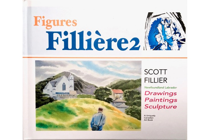 """""""Figures/ Fillière + Filliére 2/ Drawing Poetry Painting Sculpture Photography,"""" by Scott Fillier, available at amazon.ca. $105 + $75  120 + 48 pages"""