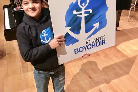 Syrian born Yaman Bai migrated to St. John's with his family about six-months ago. Since that time, he has been learning English, and is now a member of the Atlantic Boychoir. — Submitted