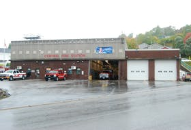 The Corner Brook Fire Department will be getting a training facility this fall. Stephen Roberts/SaltWire Network