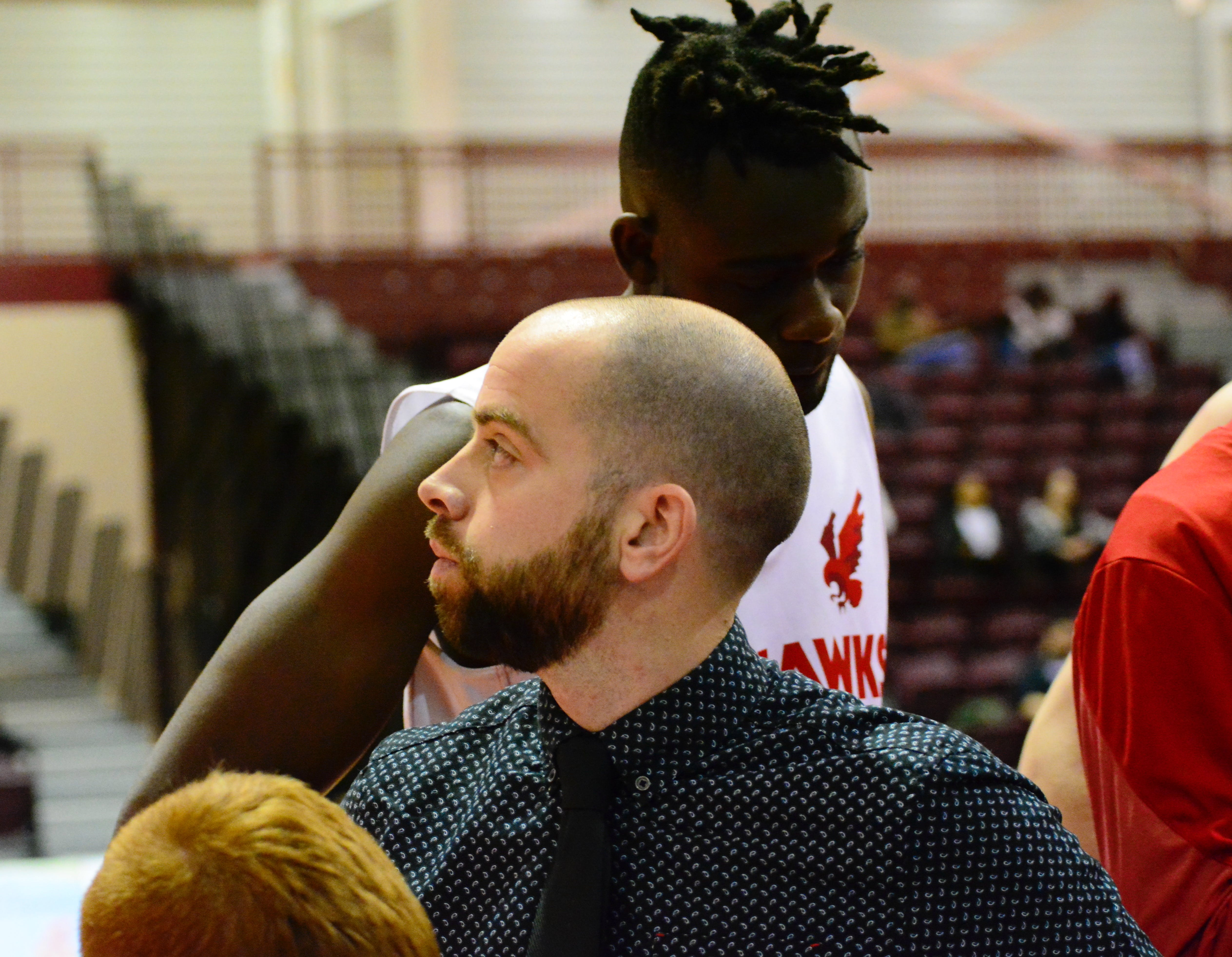 Ian Coultas has been an assistant coach with the Sea-Hawks for the last three years. Before that, he was head coach at Gonzaga High, leading that school to a provincial title, and has been a long-time coach in provincial programs. — Memorial Athletics photo