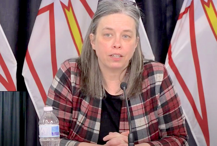 Chief Medical Health Officer Janice Fitzgerald — YoutTube screengrab