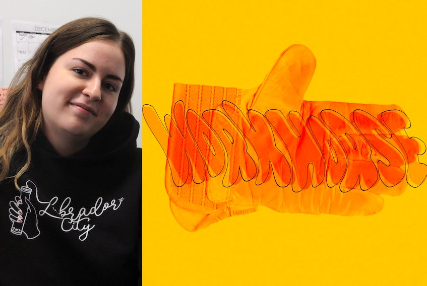 """Tanea Hynes is a visual artist from Labrador City. Her ongoing art project focusing on the local iron ore mine is called """"Workhorse."""""""