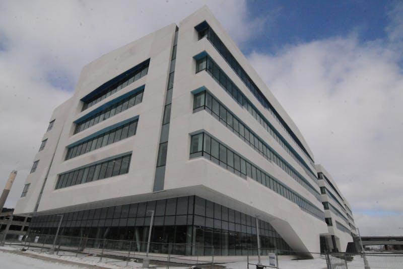 MUN's new core science building. — Joe Gibbons