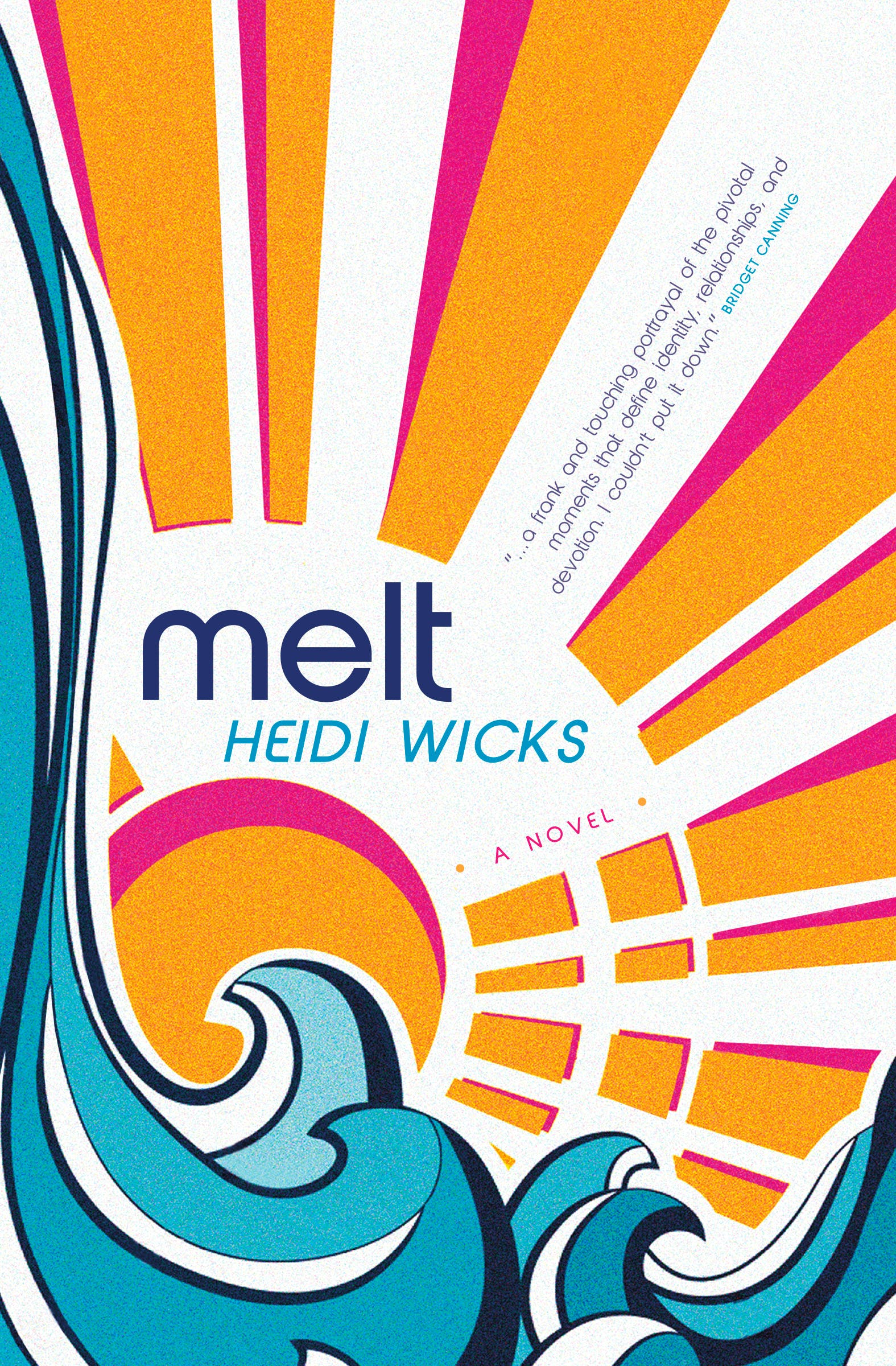 """""""Melt"""" is a novel by Heidi Wicks. CONTRIBUTED PHOTO"""