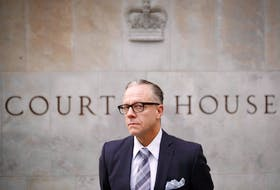 Michael Bryant, executive director and general counsel for the Canadian Civil Liberties Association, is shown in this Nov. 8, 2018 photo at the Superior Court of Justice in Toronto. — Postmedia photo/Cole Burston