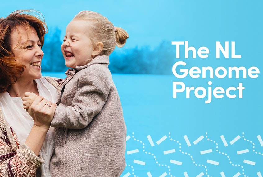 The N.L. Genome Project is currently enrolling 2,500 eligible volunteers that consent to provide a DNA saliva sample, access to medical records and complete a questionnaire.