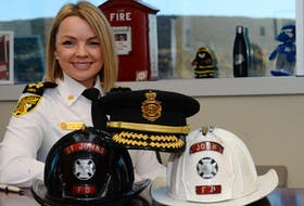 St. John's Regional Fire Chief Sherry Colford is not all about business. She also loves hunting and the Toronto Blue Jays.