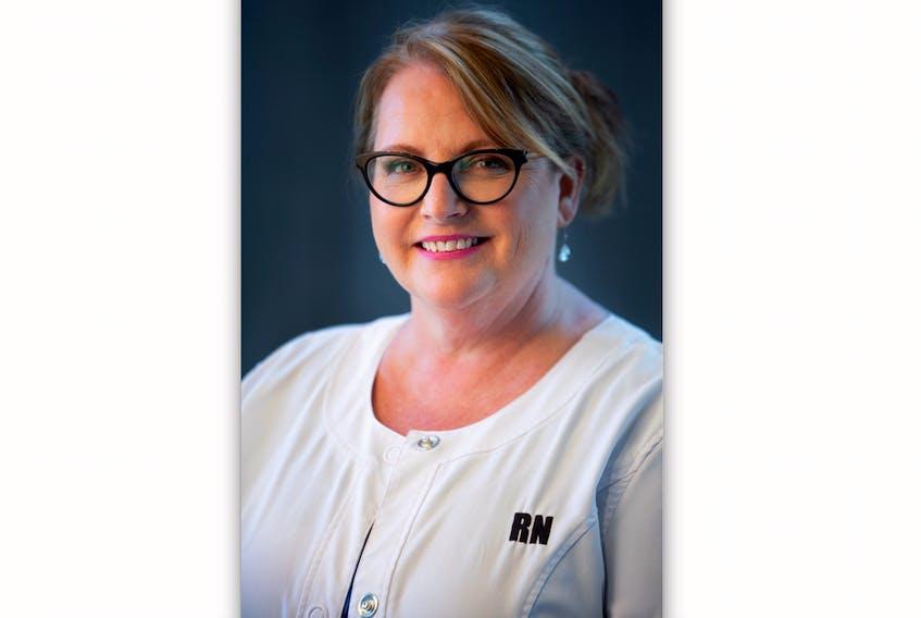 Registered Nurses' Union Newfoundland and Labrador president Yvette Coffey.
