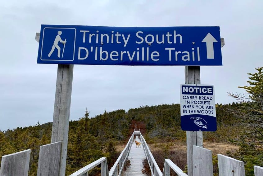 The d'Iberville Trail starts in Heart's Content and ends in New Melbourne.