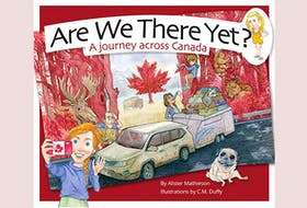 """""""Are We There Yet? A journey across Canada,"""" by Alister Mathieson, illustration by C. M.Duffy Blossom Books; 30 pages; $19.95. — Contributed"""