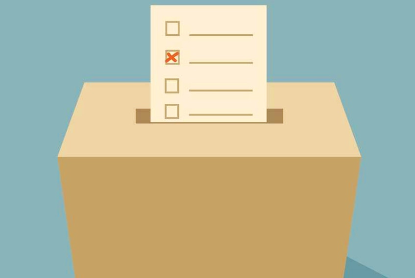 Voting started out slow to day in the byelection in Humber-Gros Morne. File image