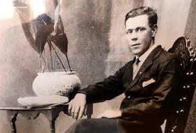Willoughby Riggs, circa 1930, Oporto, Portugal. — Riggs family photo