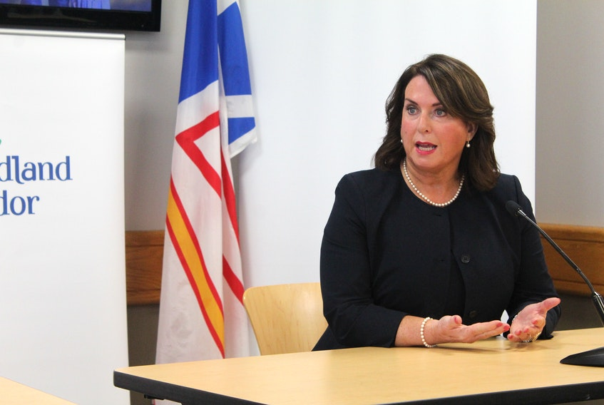 Newfoundland and Labrador deputy Premier and Finance Minister Siobhan Coady delivered her first budget today. — David Maher/The Telegram