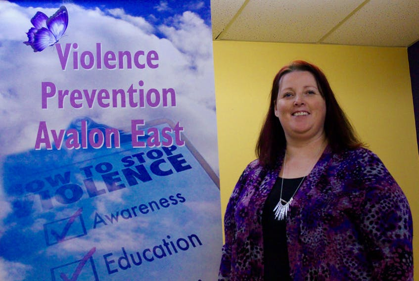 Val Barter, executive director of Violence Prevention Avalon East.