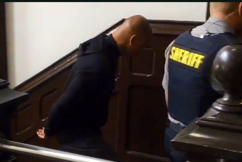 Richard Allen Ross arrives at court on Oct. 2, 2019.