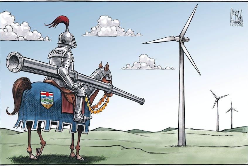 Bruce MacKinnon's editorial cartoon for May 4, 2019.