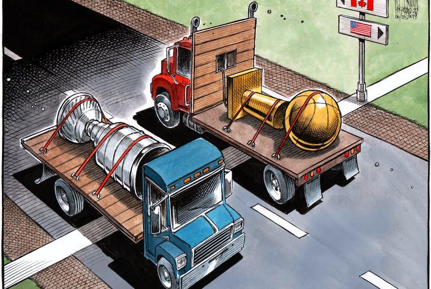 Bruce MacKinnon's editorial cartoon for June 15, 2019.