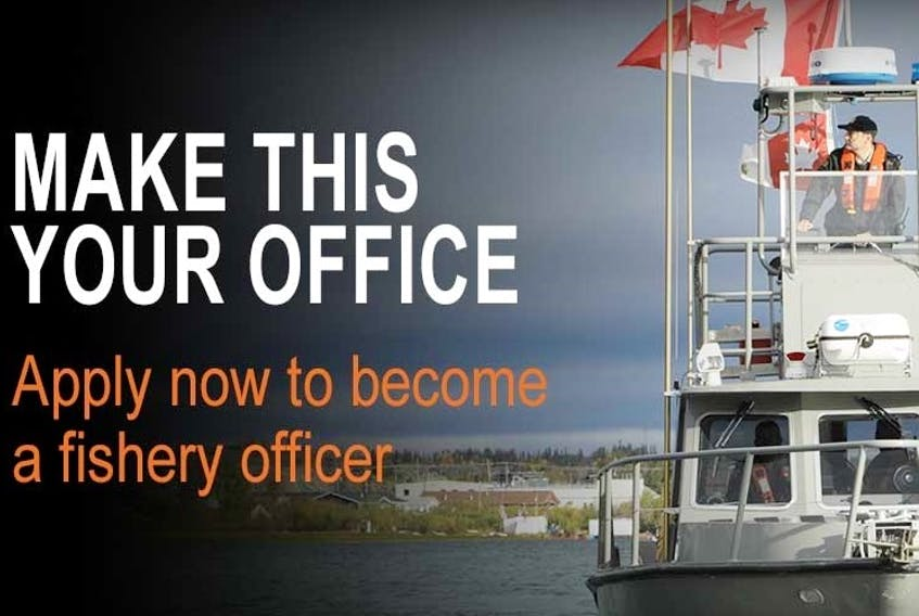 Fisheries and Oceans Canada is recruiting candidates to train for fishery officer roles.