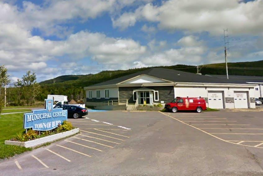 Burin town hall. Google Street View