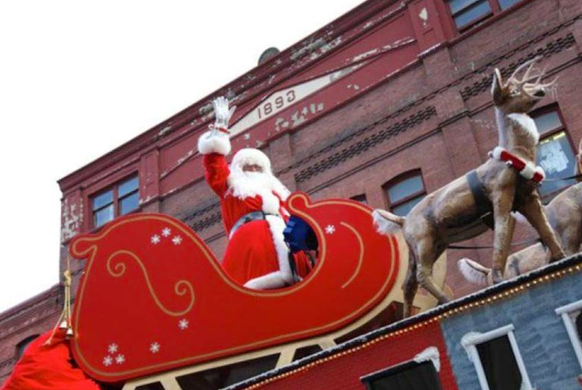 St. John's area residents will have to wait until next Sunday, Dec. 3, to see Santa ride down Water Street. Telegram file photo