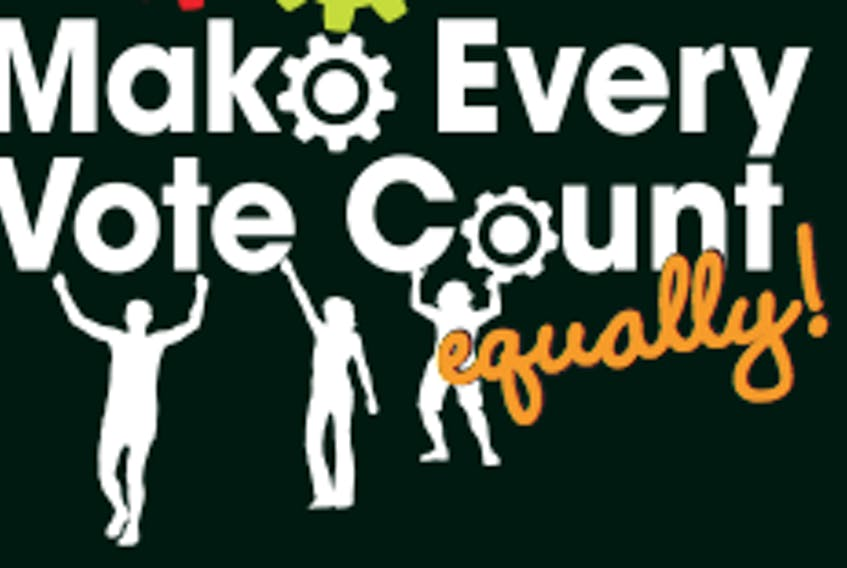 Make Every Vote Count campaign logo