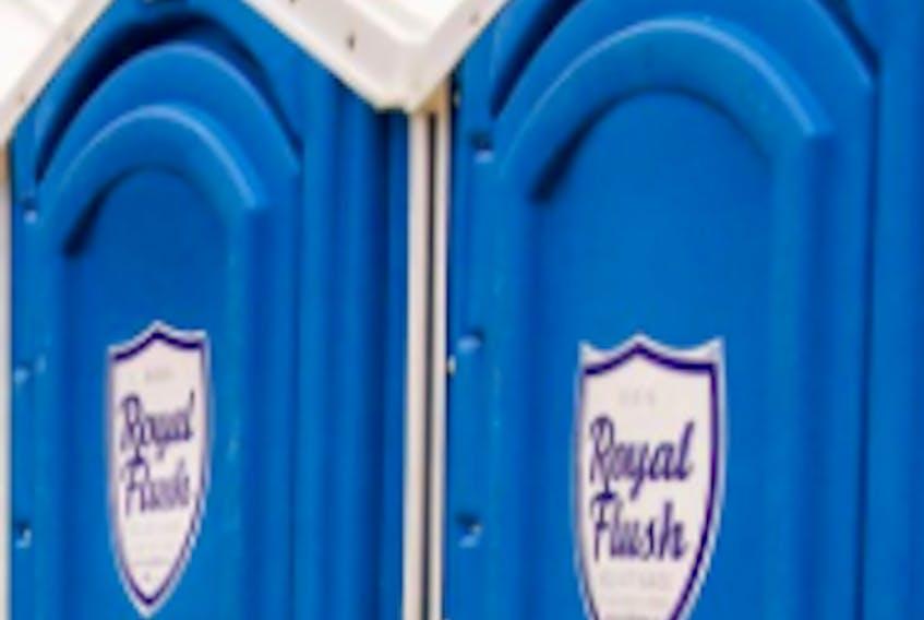 Royal Flush portable toilets.