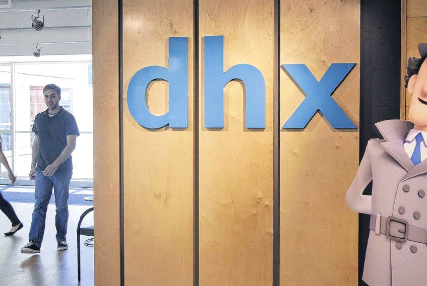 Halifax-based DHX Media announced co-founder Michael Donovan is taking over as CEO. TIM KROCHAK • THE CHRONICLE HERALD
