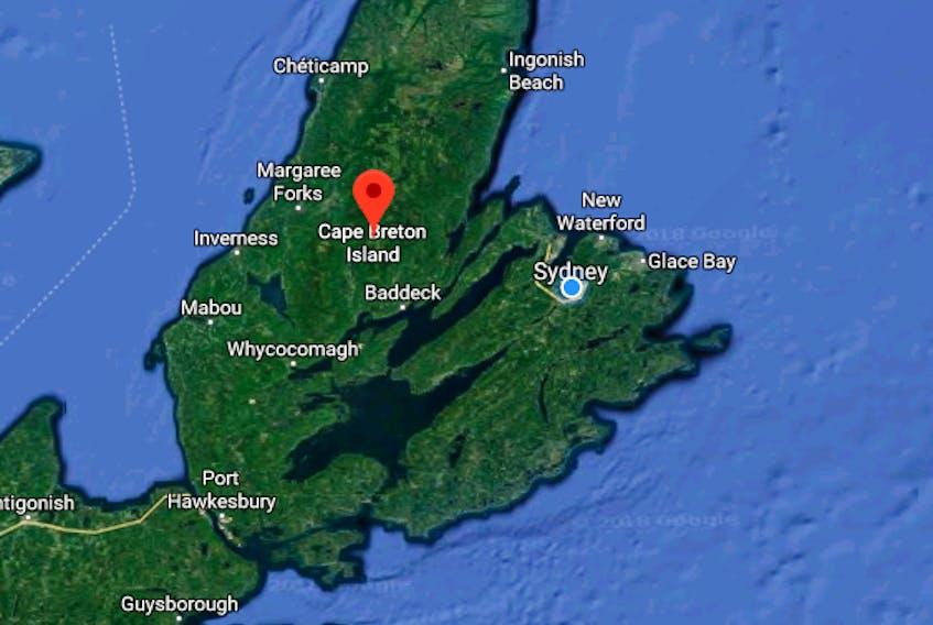 Cape Breton Island - Google Maps