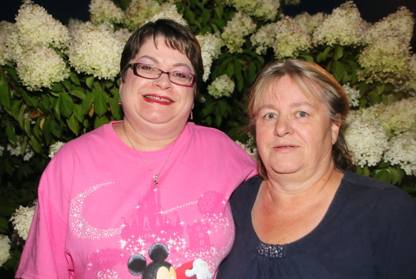 Brenda Smith, left, and Diane Moffatt were unaware of the dangers of sepsis until it came into their lives. Diane was seriously ill with it in July 2016, while Brenda's husband, Carl, contracted sepsis in October of that year.