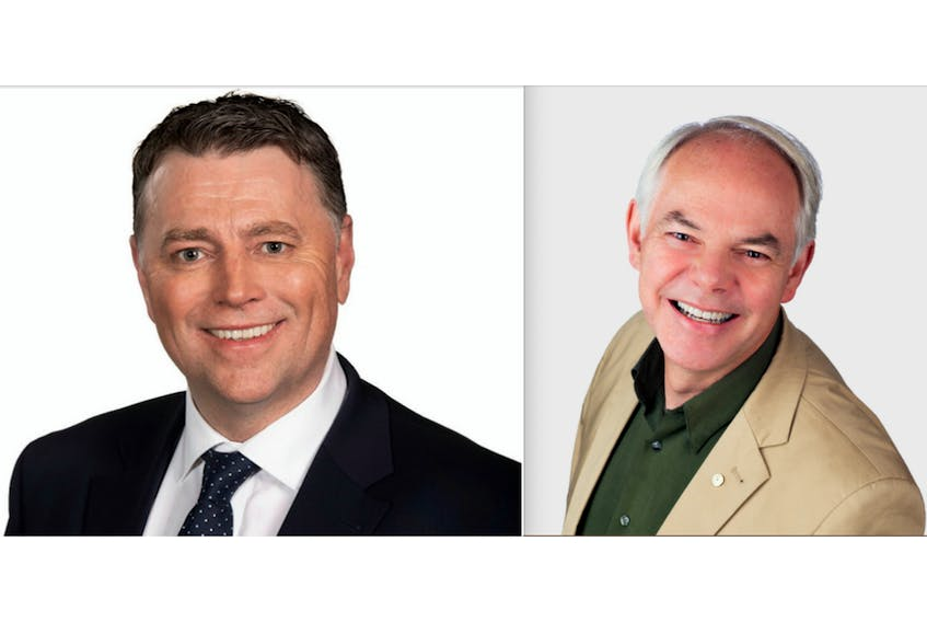 Premier and PC Leader Dennis King and Green Leader Peter Bevan-Baker are neck-and-neck in terms of popular support, according to a recent poll.