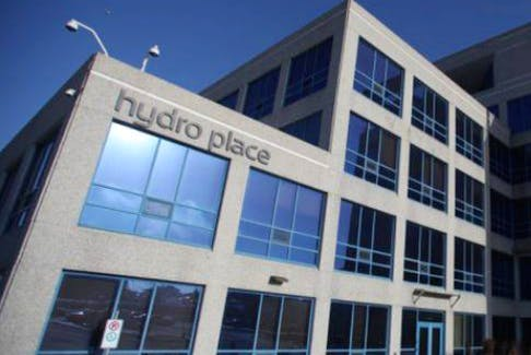 Hydro Place in St. John's. File photo