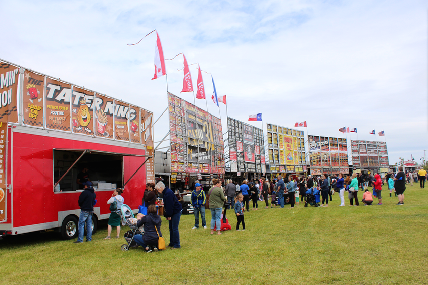 A scene from the 2019 edition of the Sydney RibFest. FILE
