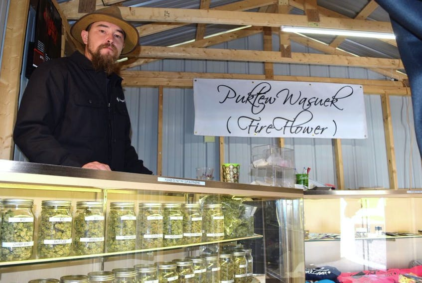 Robert Wilmot, who owns a cannabis shop in Millbrook, says RCMP officers are impacting both his business and his treaty rights by setting up spot checks at both ends of his street.