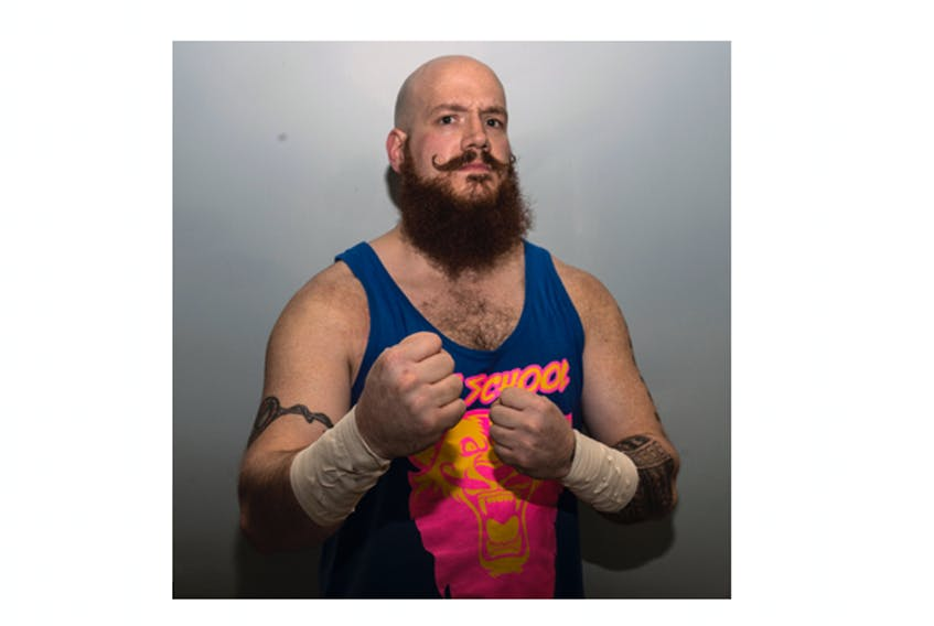 André Myette, aka Old School, will share stories about the history of wrestling in the Maritimes when he speaks at the Colchester Historeum on Jan. 16.