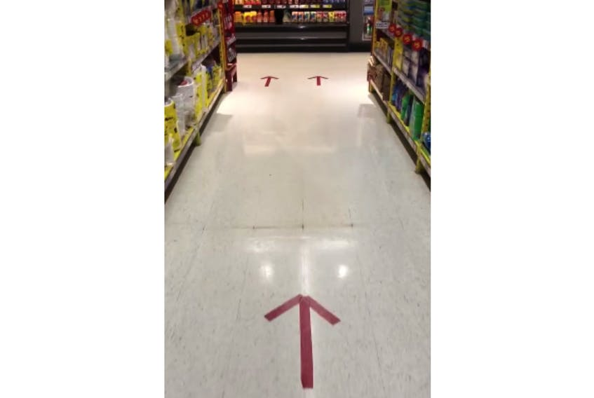 Cheers to No Frills in Stratford for having clearly marked one-way arrows in its aisles.