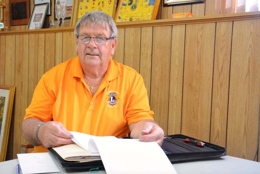 Roger Richard recently reached his 50th year with the Summerside Lions Club.