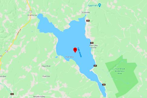 Lake Ainslie, Nova Scotia  — Google maps