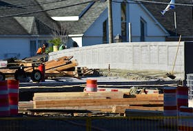 Construction is slated to wrap up at the site of the new bridge under development in the Town of Kentville by Oct. 31.