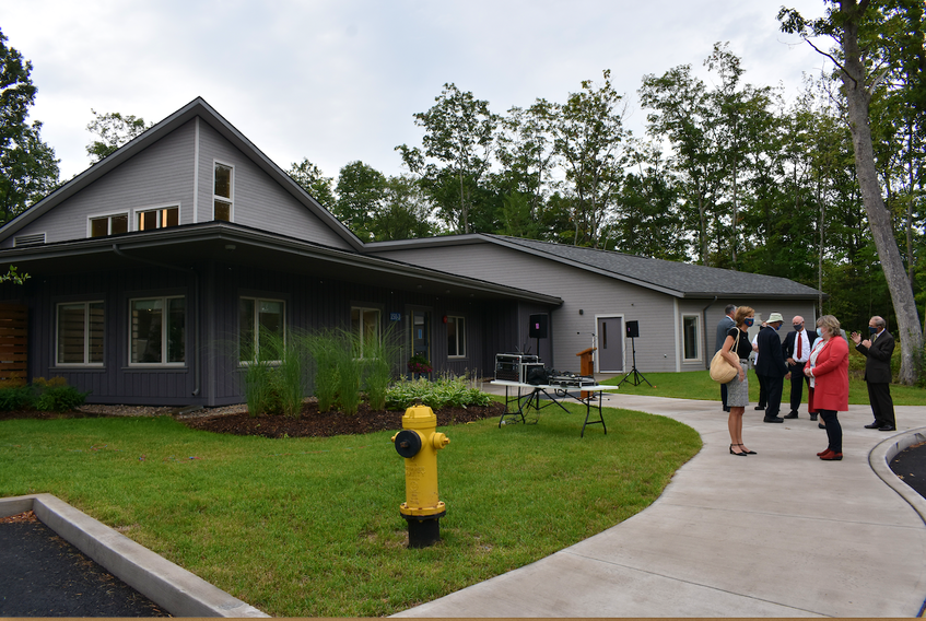 The official ribbon-cutting ceremony was held at the new Valley Hospice in Kentville on Sept. 14.